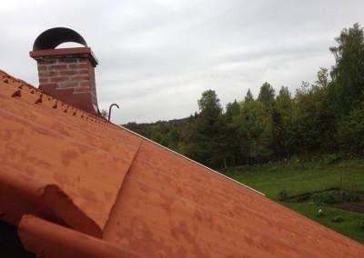 Taket fritt från svacker
